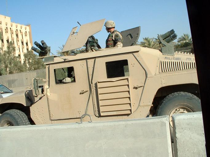 US Soldiers in Baghdad