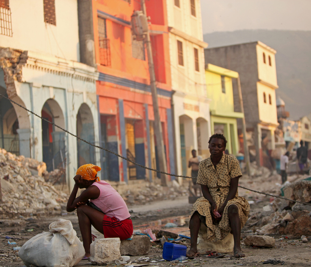 Post Earthquake Haiti
