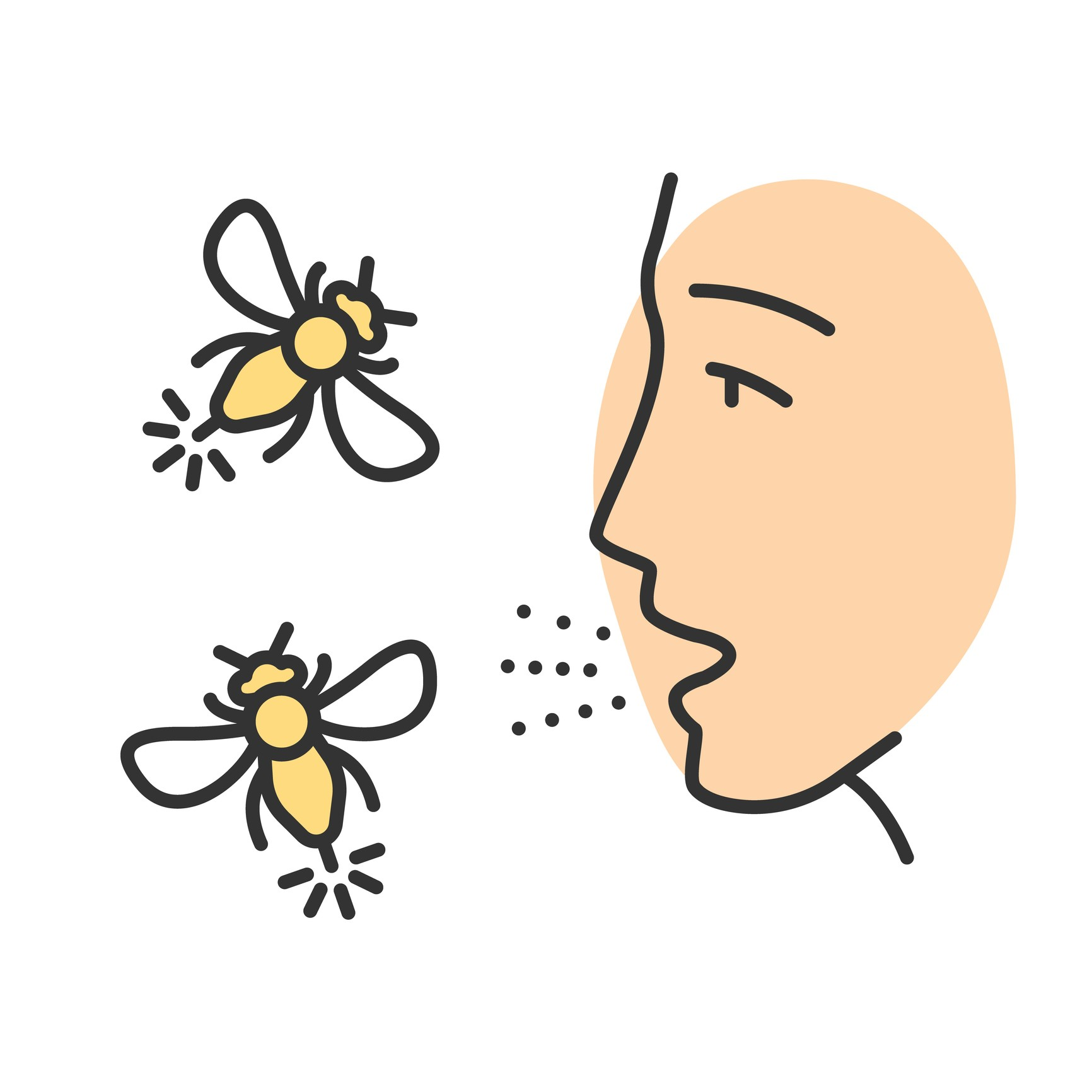 Allergy bees